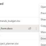 How to create one-click, direct download links in modern SharePoint Online libraries