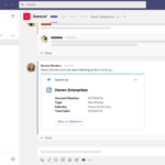 Salesforce brings sales and service data into Microsoft Teams to support a hybrid workforce